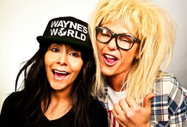 2014-Halloween-Costume-ideas-Celebrity-01-waynes-world-610x414
